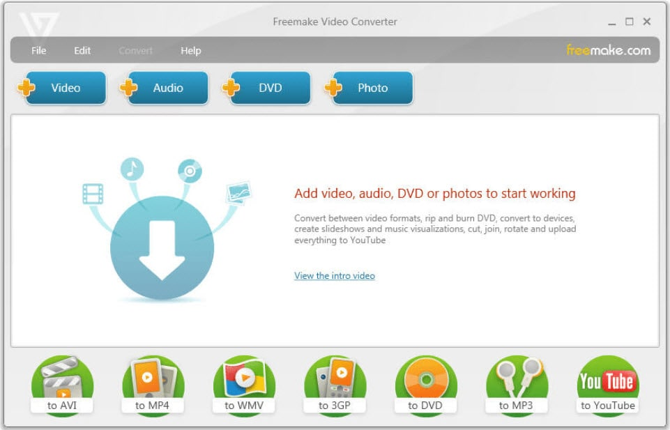 converter formato de vídeo pelo freemake video converter