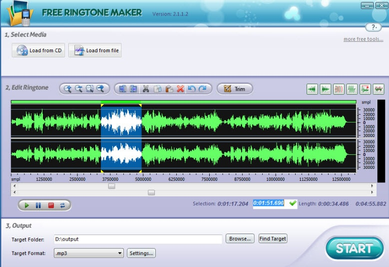 Freemore Ringtone Maker: