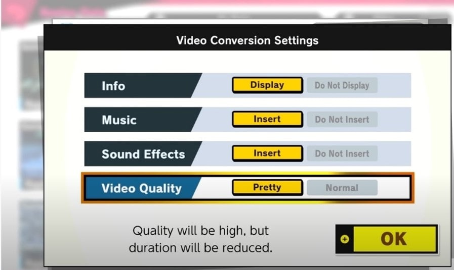video-quality-interface