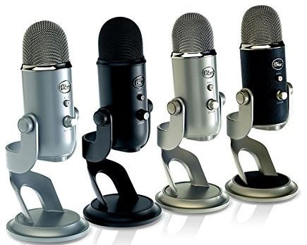 Gamer Equipment - Blue Yeti