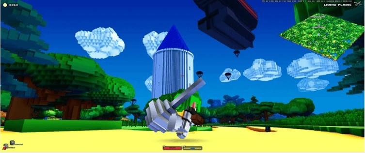 games-like-minecraft-cubeworld