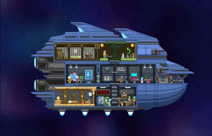 games-like-minecraft-starbound