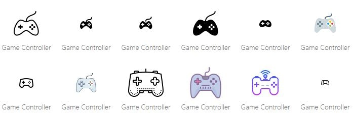 Gaming Logo Icon on Icons8