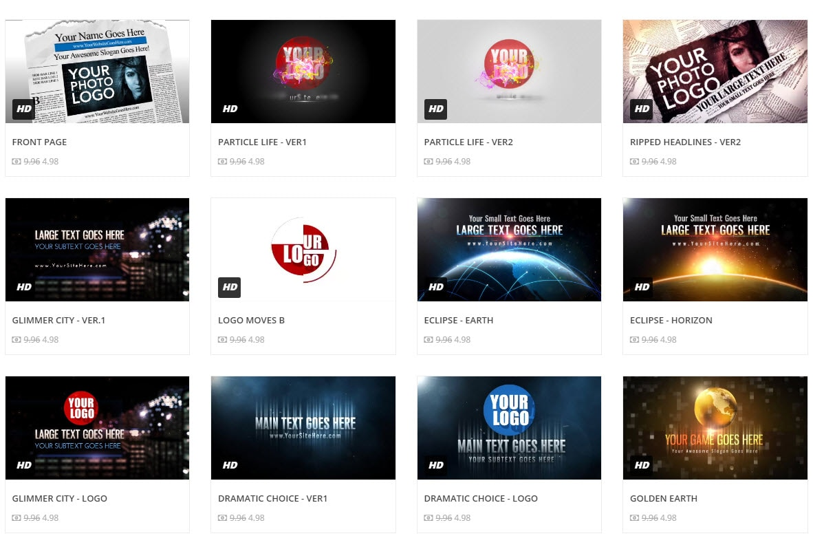Best 15 YouTube Gaming Intro Makers - Free and Paid