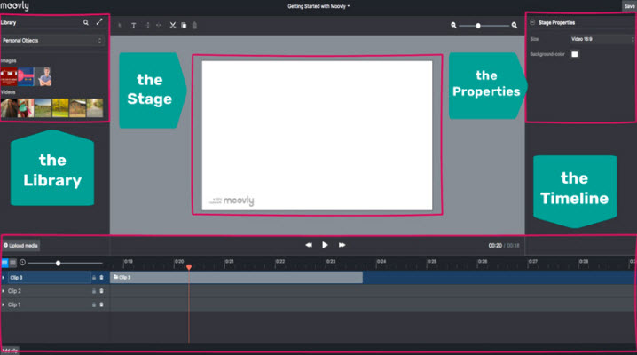 Moovly free online animated video maker