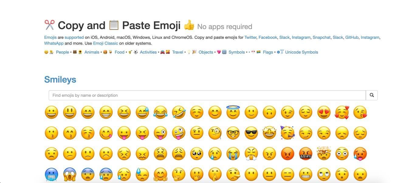 get emoji website
