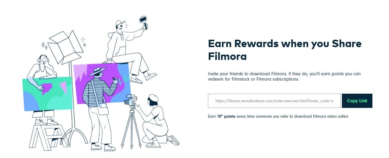 get   Filmora for freel via referral