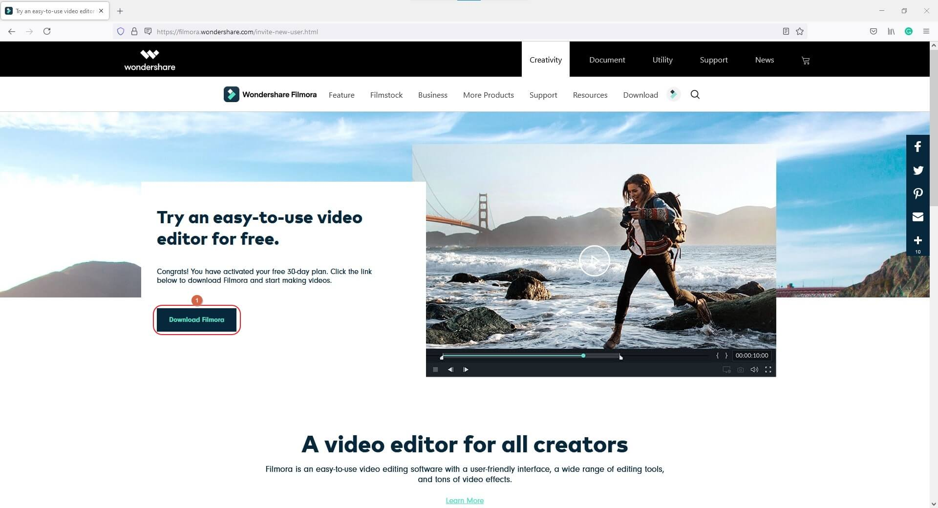Get Free Wondershare Filmora without Crack