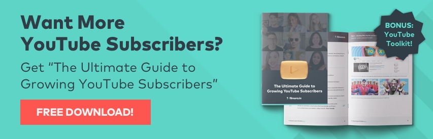 Get free YouTube Subscribers Guide Banner