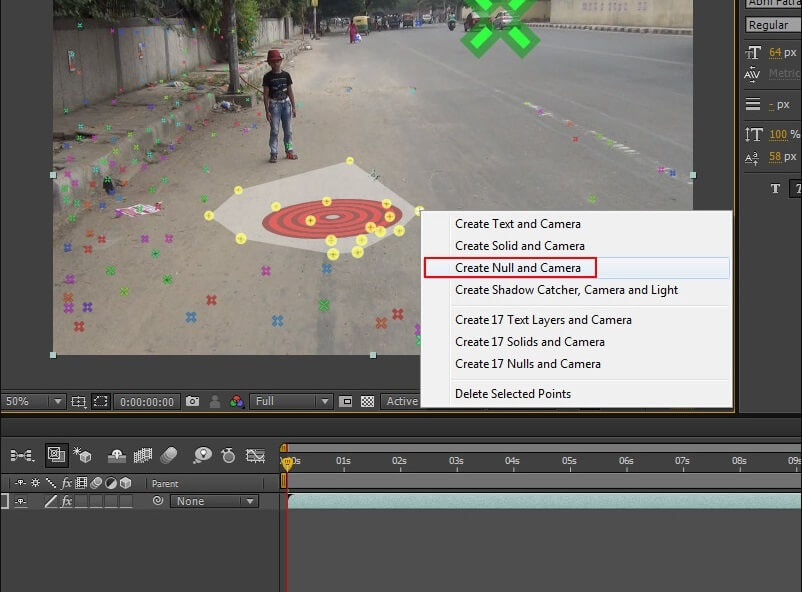 get-null-object-track-camera-after-effects