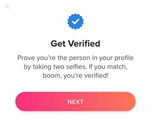 Get Verified On Tinder