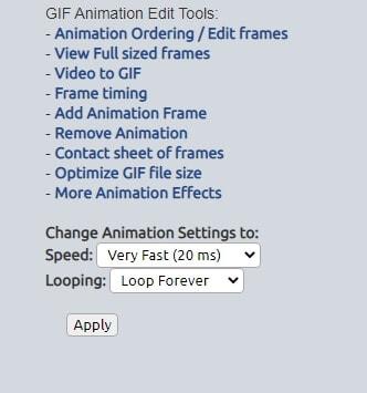 LunaPic GIF Animation Tool Loop Maker