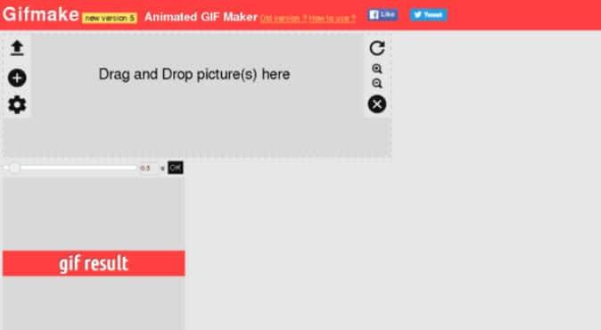 online gif editor GIFMake
