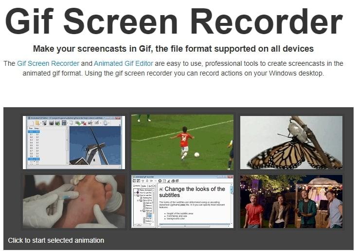 GIF Screen Recorder