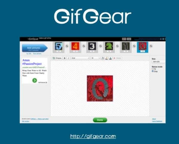 gif maker online GIFGear