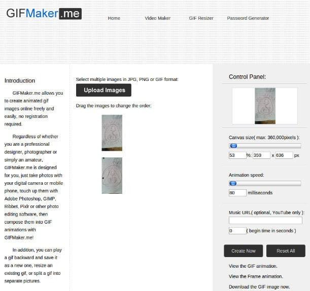 gif maker online GIFMaker