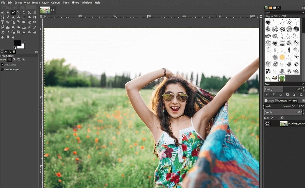 GIMP Free Photo Editing Software for beginners
