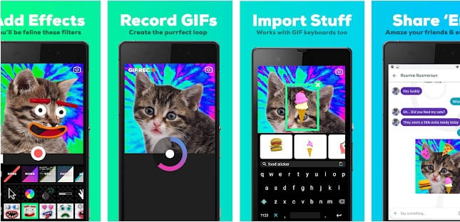 How to convert gif to video for Instagram