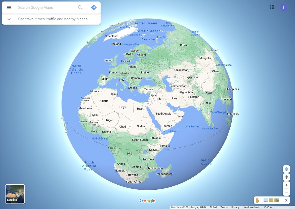 Get Travel Maps from Google Map