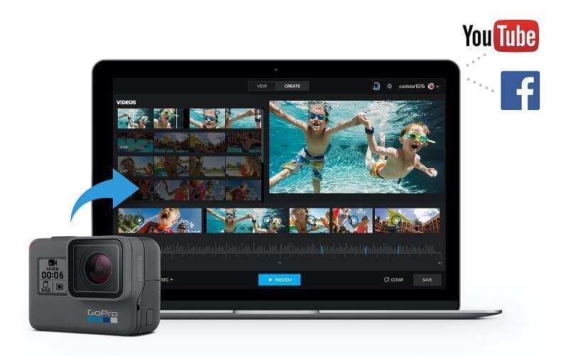 GoPro Quik for MacBook Interface