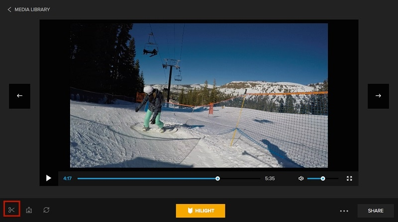 Cut a Video on GoPro Quik