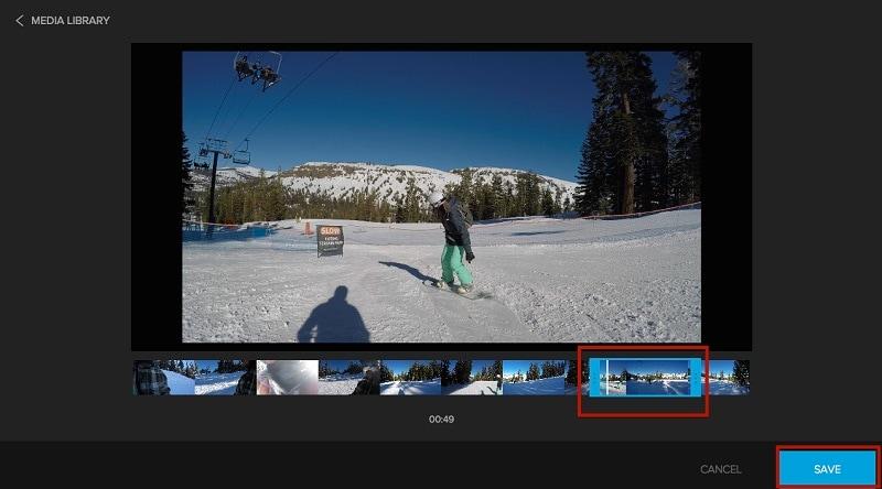 GoPro Quik Mac Video Trimming