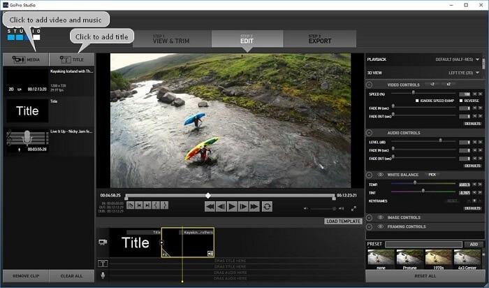 GoPro Studio MacBook