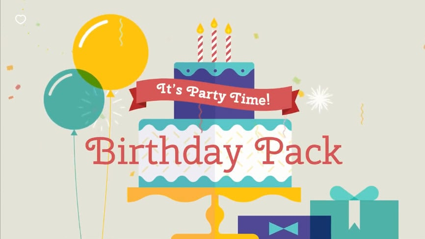 Birthday Pack Visual Effects