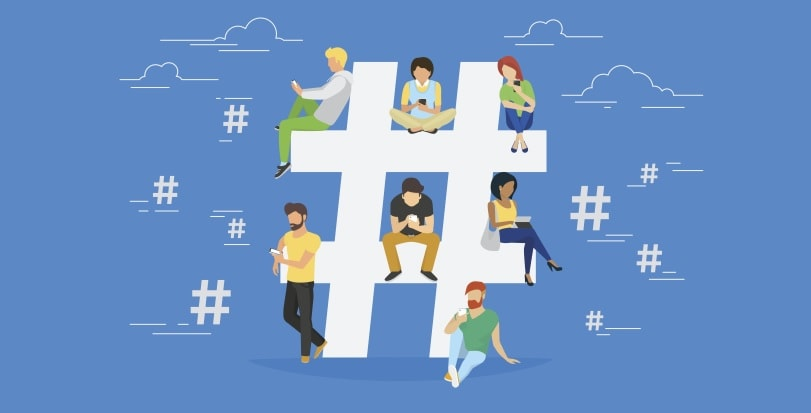 Hashtags in Socual Media