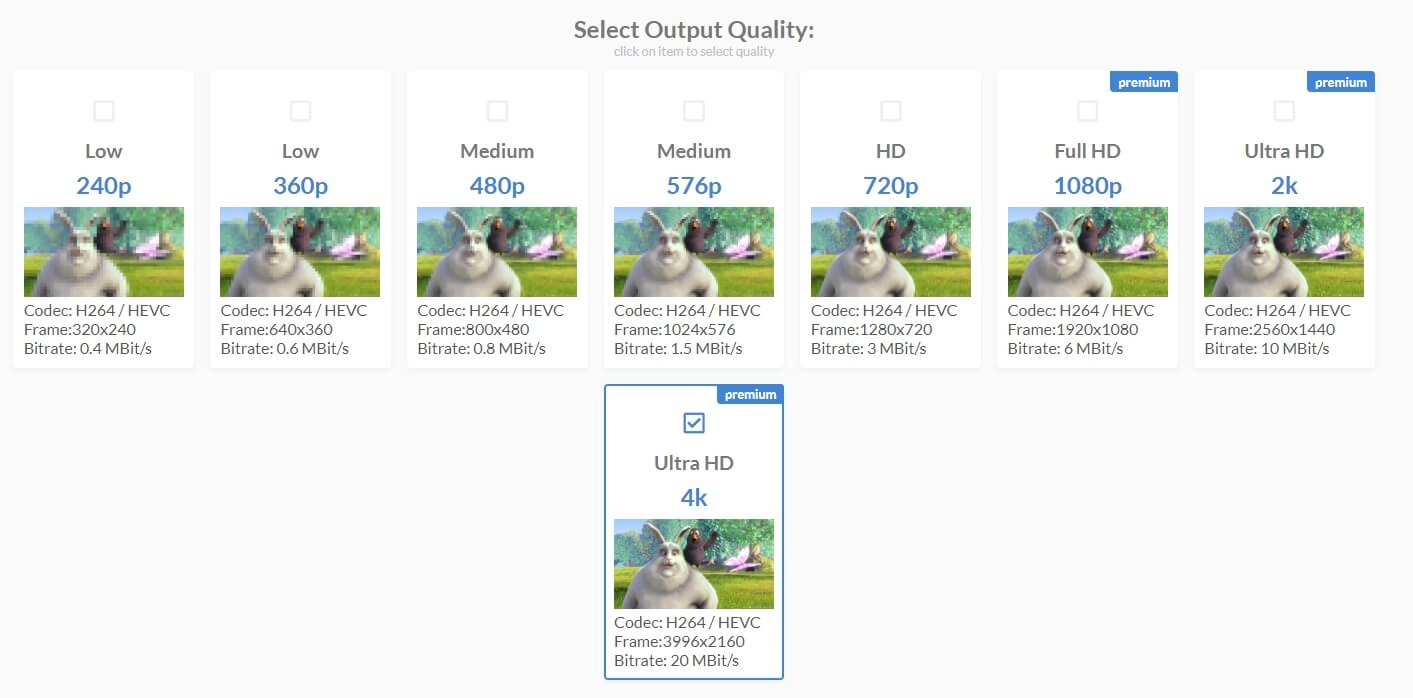 Enhance video quality by improving video resolution