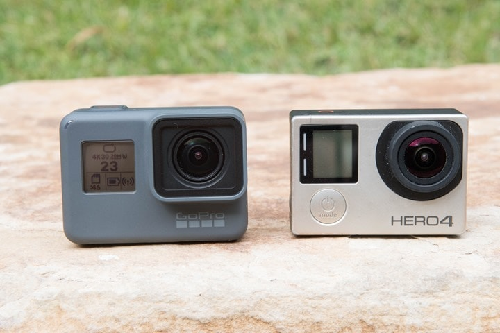 Gopro Hero 5 Vs Hero 4 >> Gopro Hero5 Black Vs Gopro Hero4 Silver