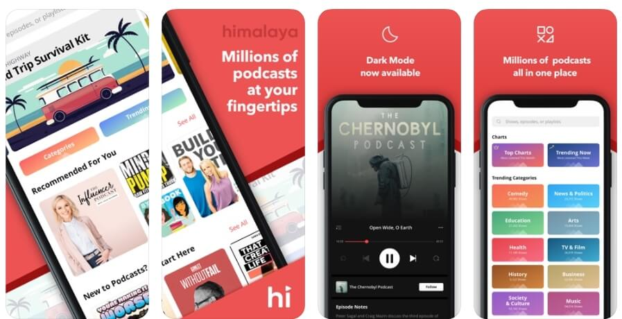 Best Podcast Player App - Himalaya