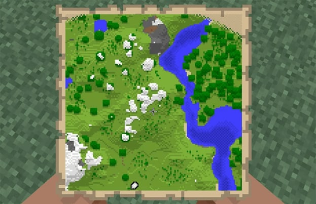 how-to-make-a-map-in-minecraft-poster