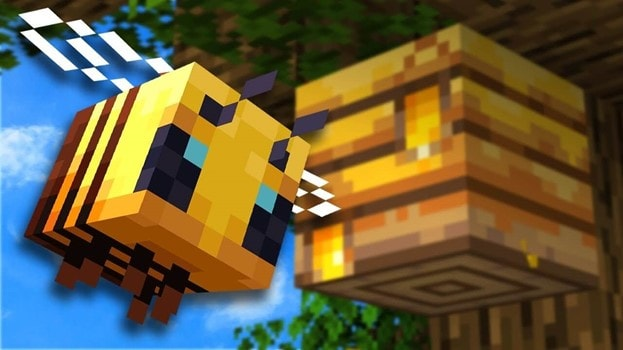 how-to-tame-bees-in-minecraft-poster