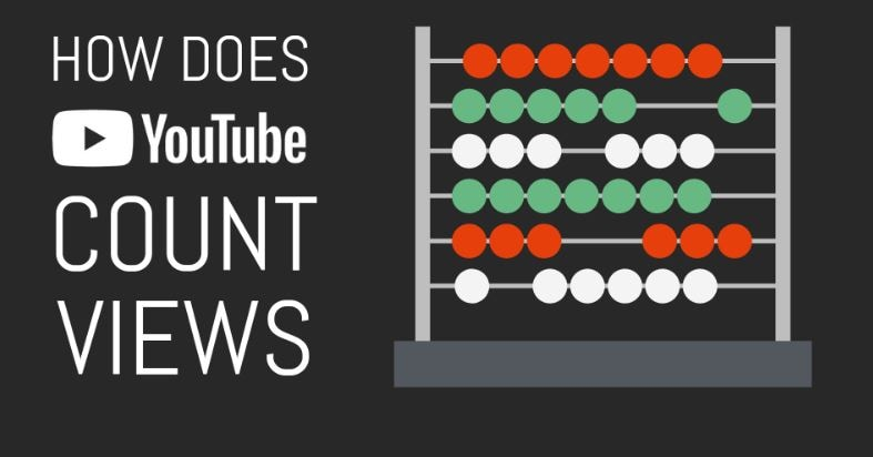 how YouTube counts view