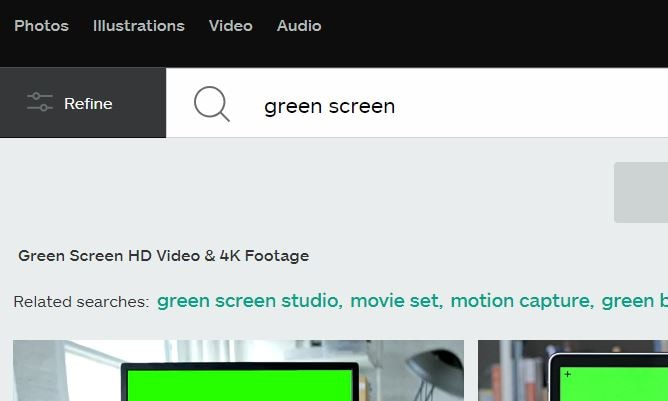 Free Green Screen Background for YouTube Videos