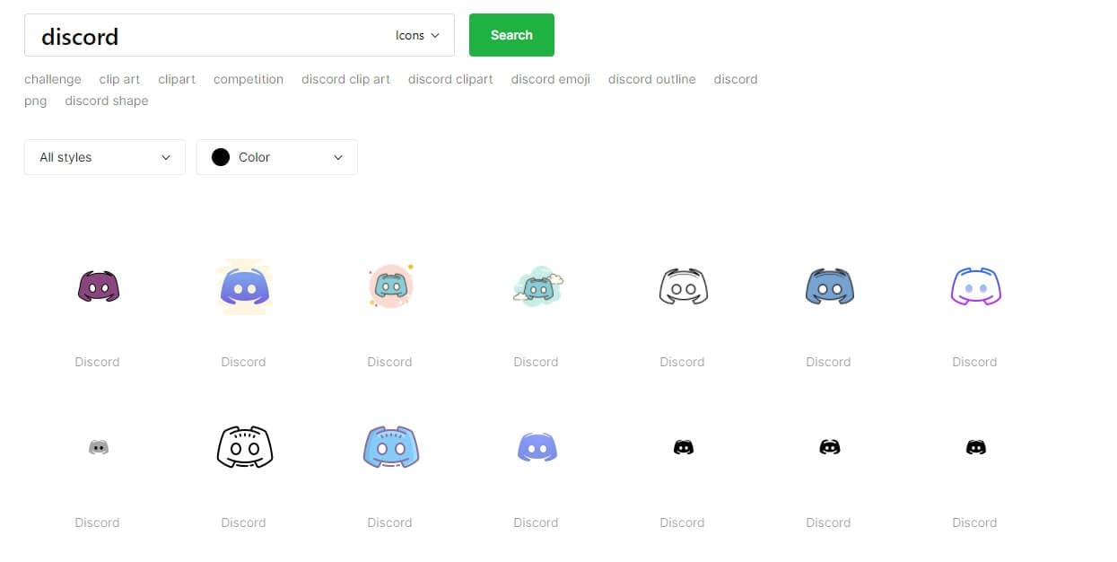 Icons8 Discord logo Download
