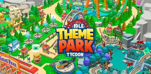 idle-theme-park-tycoon-poster