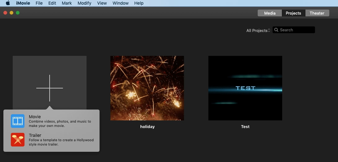 make slideshow in iMovie