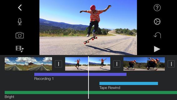 Video Making App - iMovie