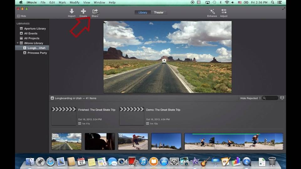 imovie-share-button