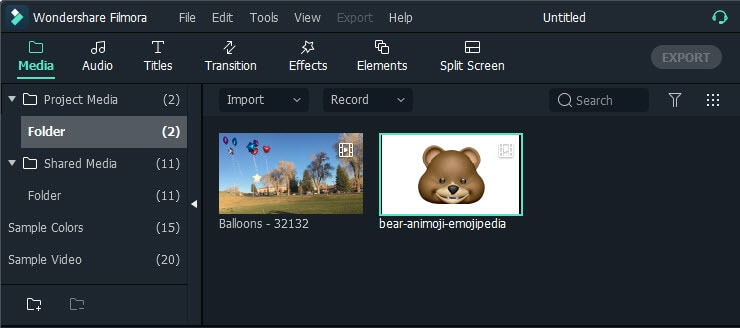 import animoji video