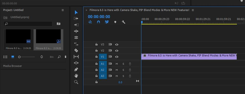 how to crop a video in premiere