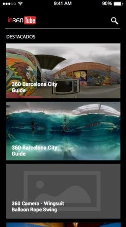 Top 5 iOS 360 degree video player apps