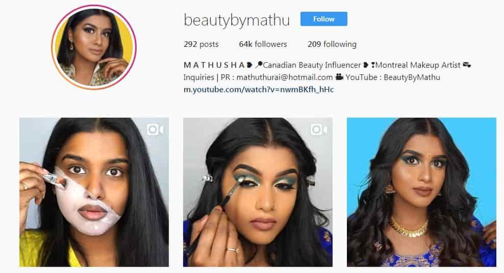 ins beautybymathu