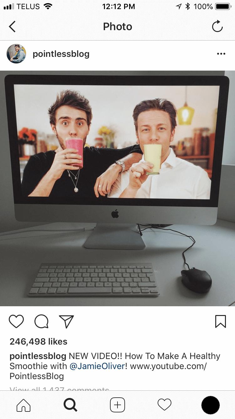 Instagram Feed sample 2