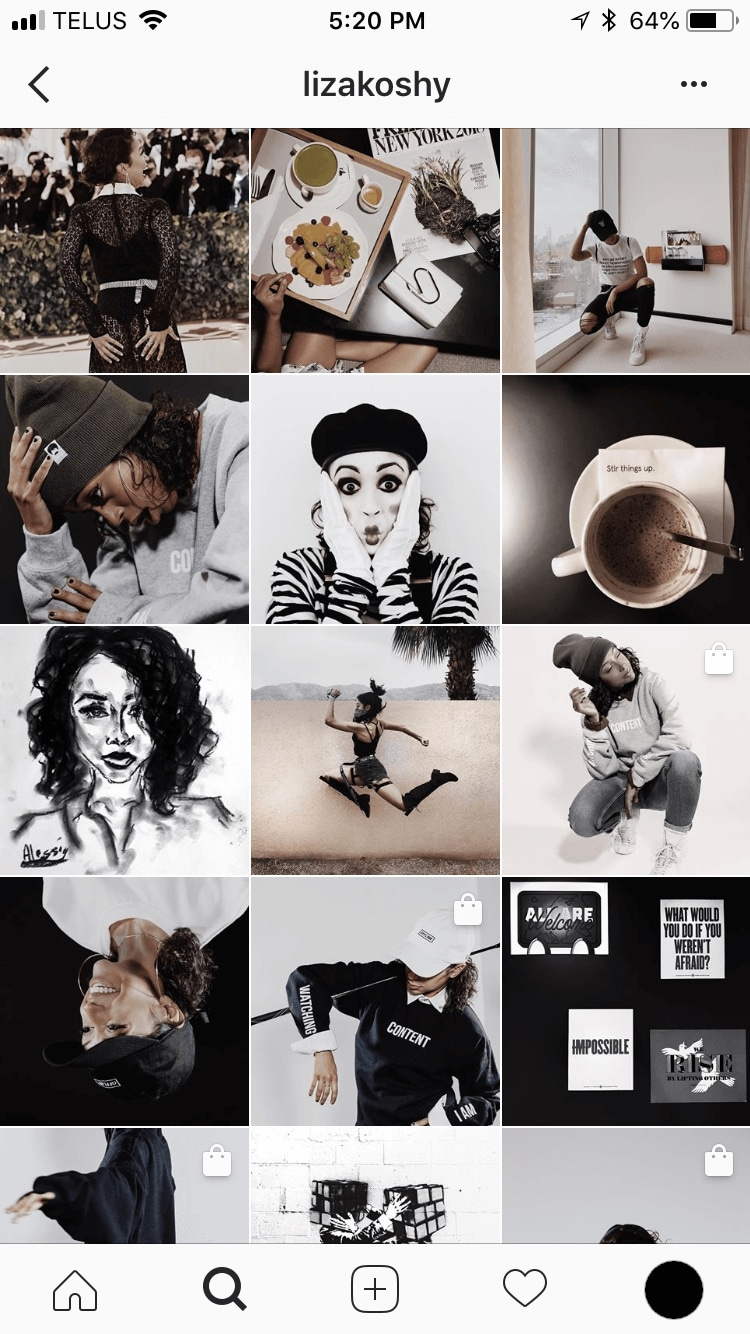 Instagram Feed sample