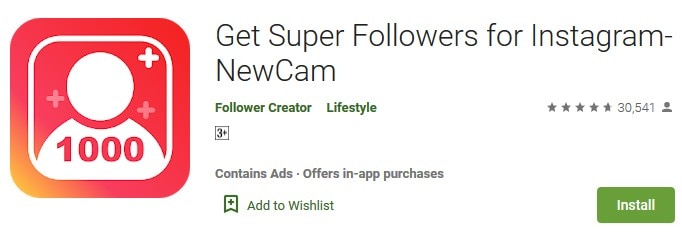 Get Super Followers for Instagram- NewCam