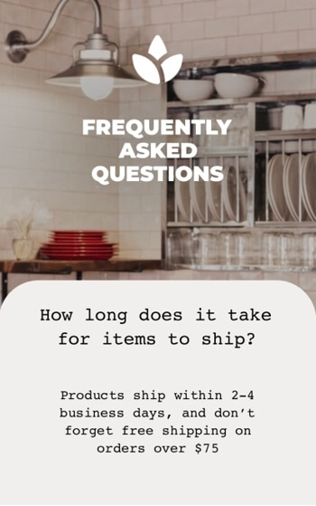 Instagram highlight  usage - show faq