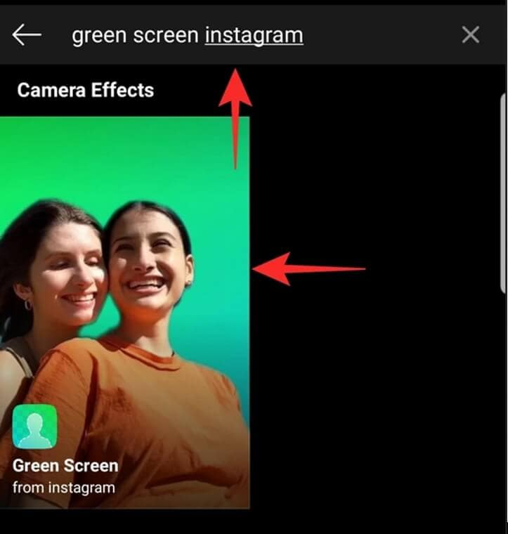 Ins Green Screen Filters